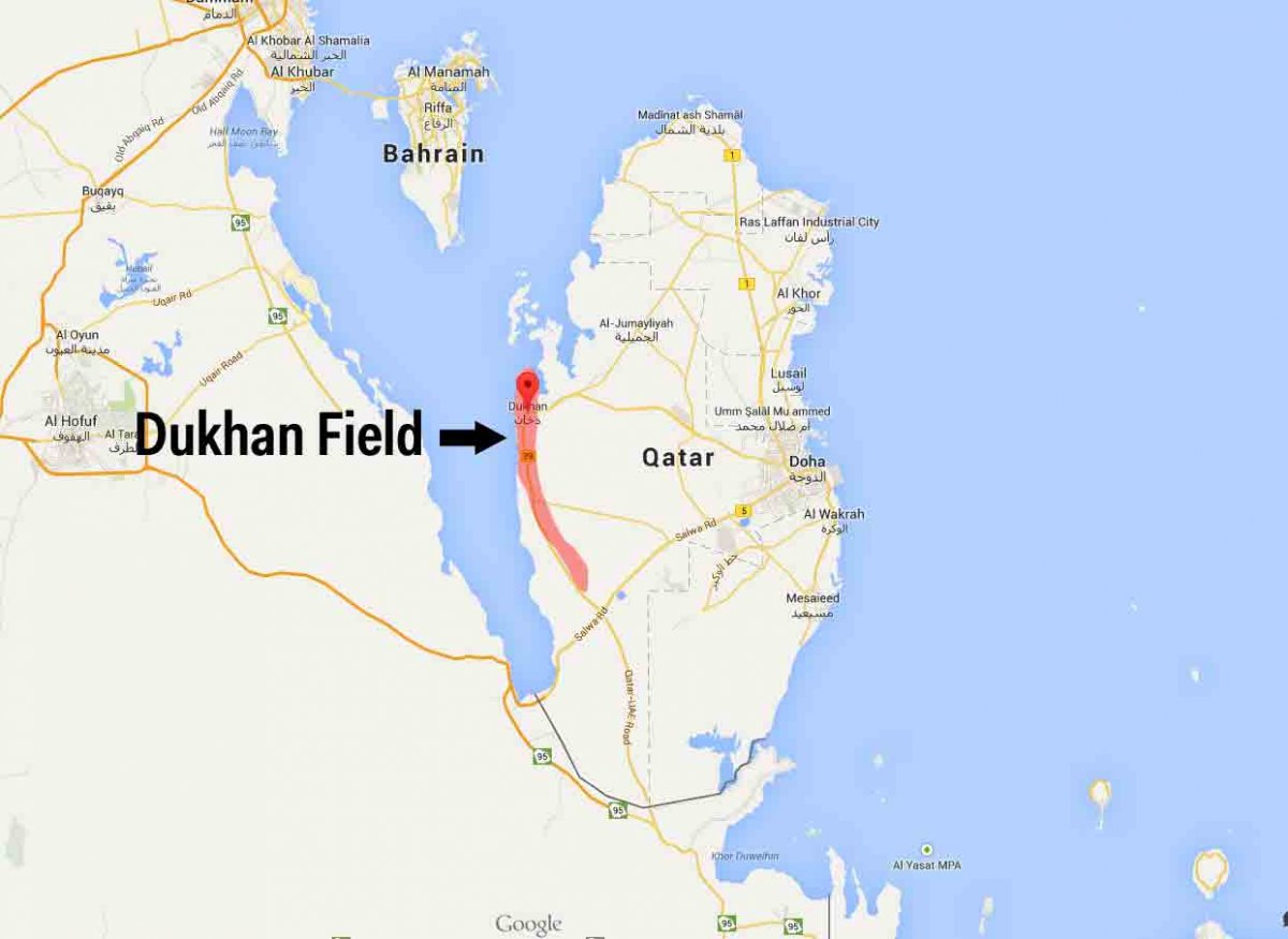 in-1939-oil-was-discovered-at-dukhan-development-on-the-field-was-slow-until-1949-because-of-world-war-ii-while-the-oil-discovery-was-significant-it-was-nothing-compared-to-the-natural-gas-reserves-found-30-years-later